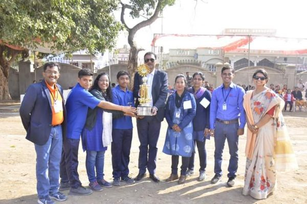 School Students Awards Bhavkunj School Kadi Mehsana