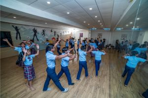 contemporary dance CBSE School
