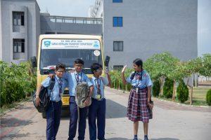 School Transportation Bhavkunj School Kadi Mehsana