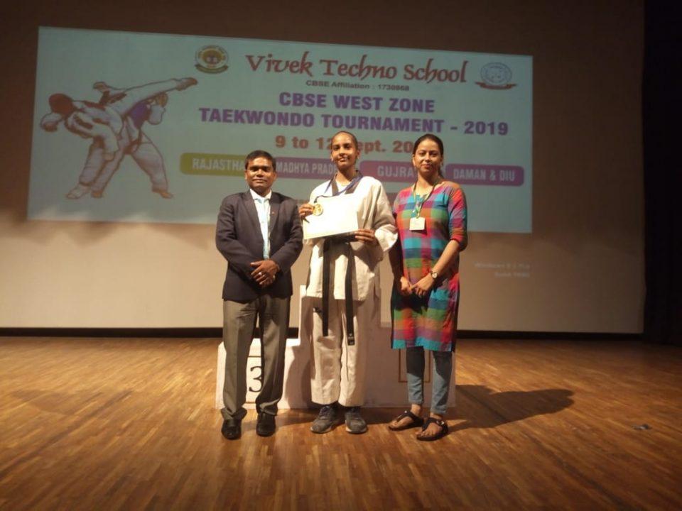 ms.sneha_shah_taekondo bhavkunj school kadi mehsana