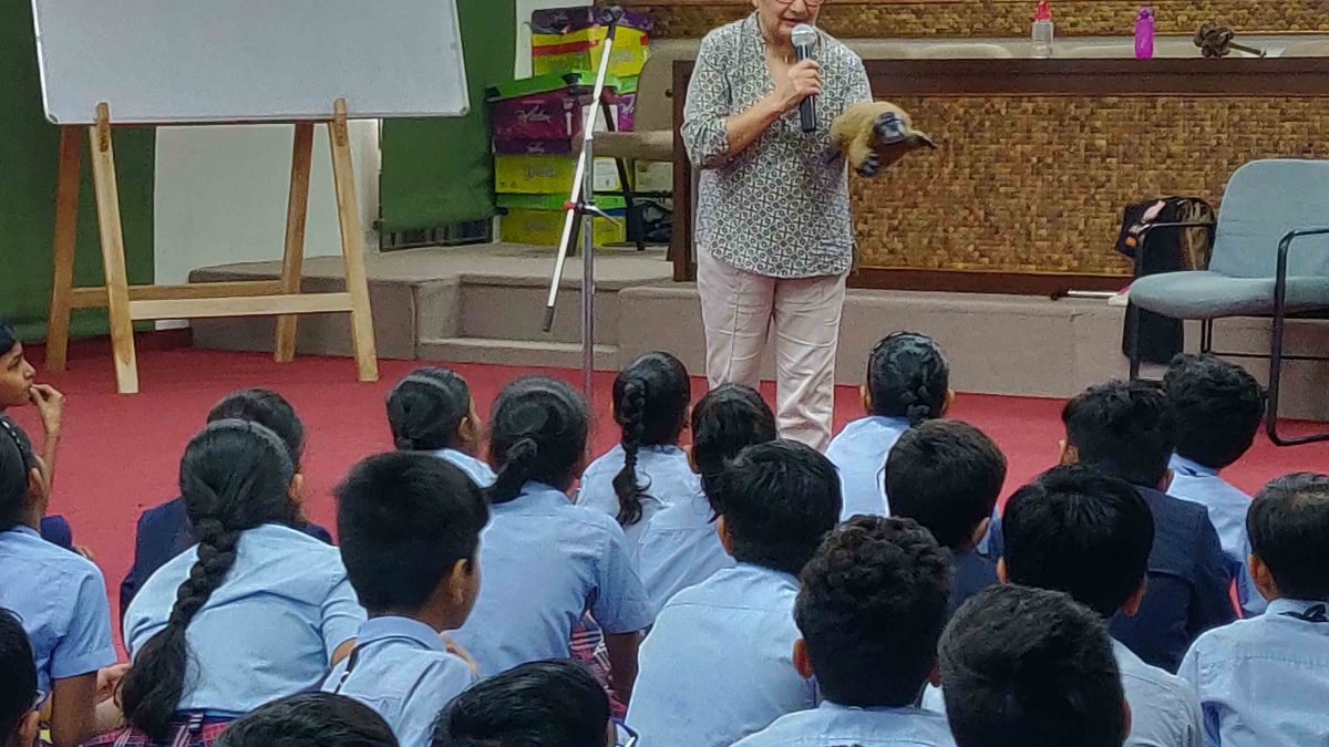 International Storyteller expert Ms. Kiran from Australia