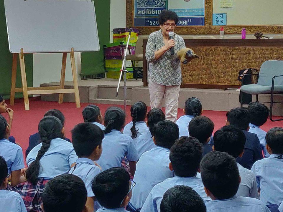 International Storyteller expert Ms. Kiran from Australia