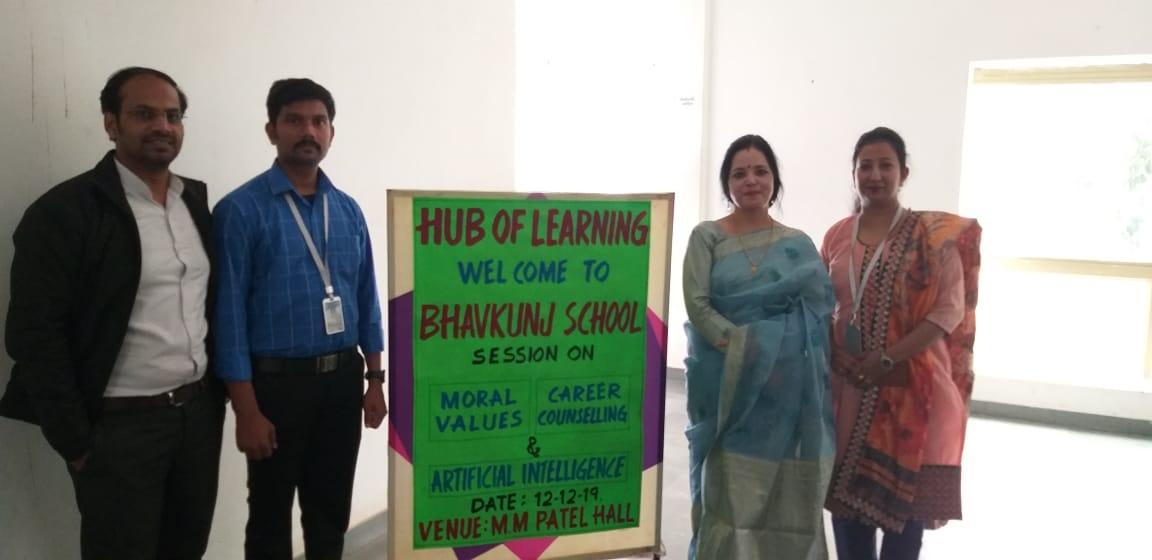 hub of learning bhavkunj school kadi mehsana